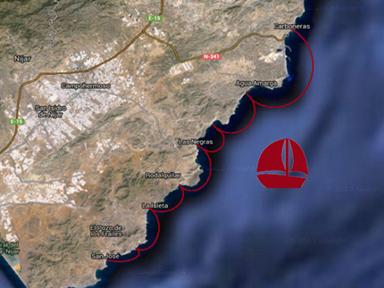 Excursiones en barco por Cabo de Gata