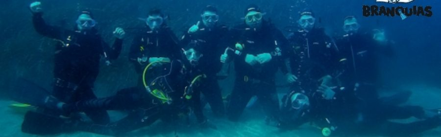 Curso Open Water Diver Isla de San Andres - Carboneras