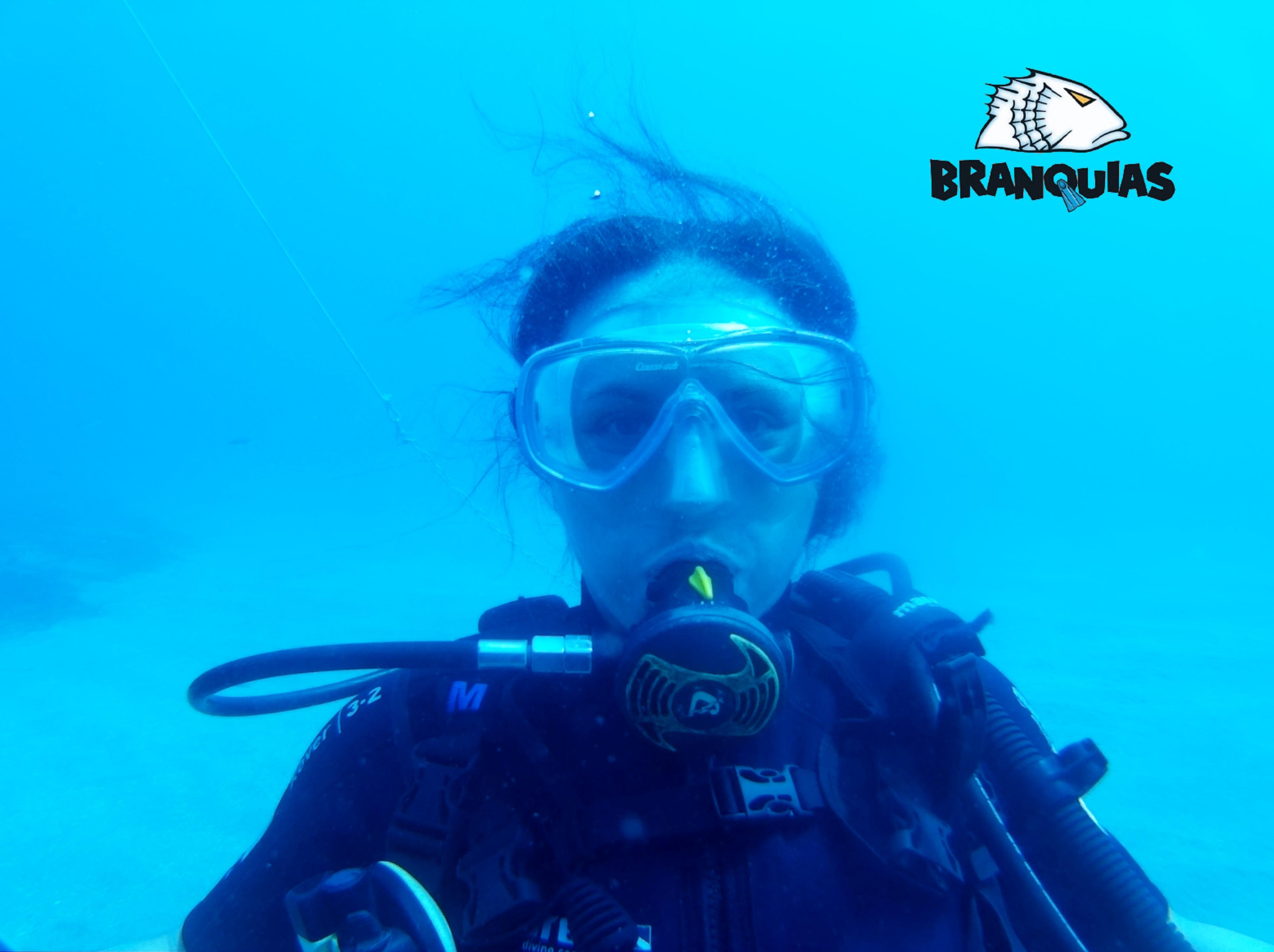 buceo Branquias Carboneras