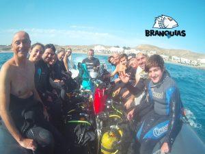 Buceo Branquias Carboneras Punte de Octubre